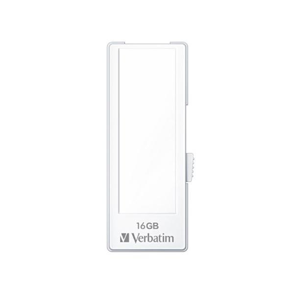 三菱化学メディア USBメモリ スライド式 16GB 白 10個入 USBF16GVW1C