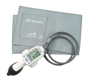 片手で楽に操作出来る、プロの為の電子血圧計【送料無料】テルモ エレマーノ電子血圧計 ES-H55...