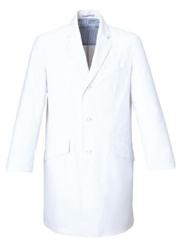 ミズノ(MIZUNO) メンズドクターコート MZ-0025 S〜3L ホワイト(白)