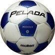 モルテン molten サッカー ペレーダ3000 土用 5号球 F5P3000-WB WBシャンパンシルバー×メタリックブルー 検定球