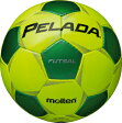 【フットサルボール一番人気!】モルテン molten フットサルボール ペレーダフットサル F9P3000-YG ライトイエロー×メタリックグリーン 検定球