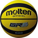 モルテン molten ゴムバスケットボール GR6 6号球 BGR6-YK イエロー×ブラック