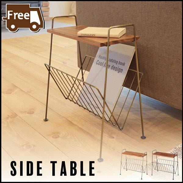 サイドテーブルシンプルセール サイドテーブルスチール木製ナイトテーブルソファサイドテーブルテーブルアンティーク北欧男前インダス