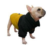 フレンチブルドッグ服パグ服フィールドダウンコート(中綿)犬服犬服犬の服ダウンジャケットフレブル洋服冬服
