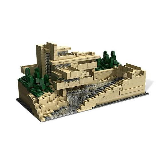 フランクロイドライト レゴ