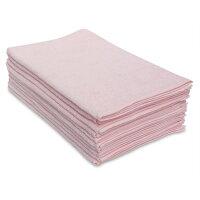 250匁フェイスタオル10枚セット:ピンク(全9色)【無地】【業務用タオル】【両面パイル地】【あす楽対応】