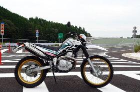 SPTADAOSP忠男マフラーSEROW250(JBK-DG17J)POWERBOXエキゾーストパイプSE2-PB-01