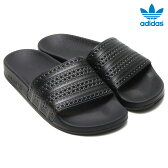 adidas Originals ADILETTE (アディダス オリジナルス アディレッタ)CORE BLACK/CORE BLACK/RED【メンズ レディース サンダル】16SS-I