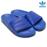 adidas Originals ADILETTE (アディダス オリジナルス アディレッタ)POWER BLUE/POWER BLUE/RUNNING WHITE【メンズ レディース サンダル】16SS-I