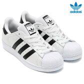 adidas Originals SUPERSTAR (アディダス オリジナルス スーパースター) Running White/Running White/Core Black【レディース メンズ スニーカー】【定番】16FW-I