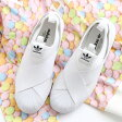adidas Originals Superstar Slip On W(アディダス オリジナルス スーパースター スリップオン) Running White/Running White/Core Black【レディース スニーカー スリッポン】17SS-I