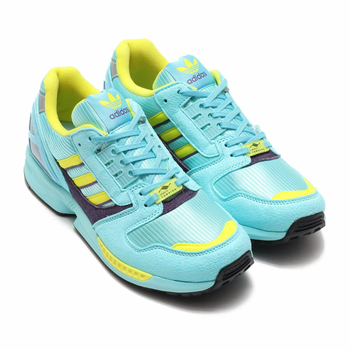 メンズ靴, スニーカー adidas ZX 8000( 8000)CLEAR AQUARIGHT AQUASHOCK YELLOW 20SS-S