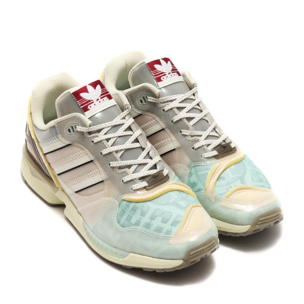 メンズ靴, スニーカー adidas ZX 6000 XZ( ZX 6000 XZ)CLEAR BROWNCHORK WHITESAND 21SS-S atp21ssl