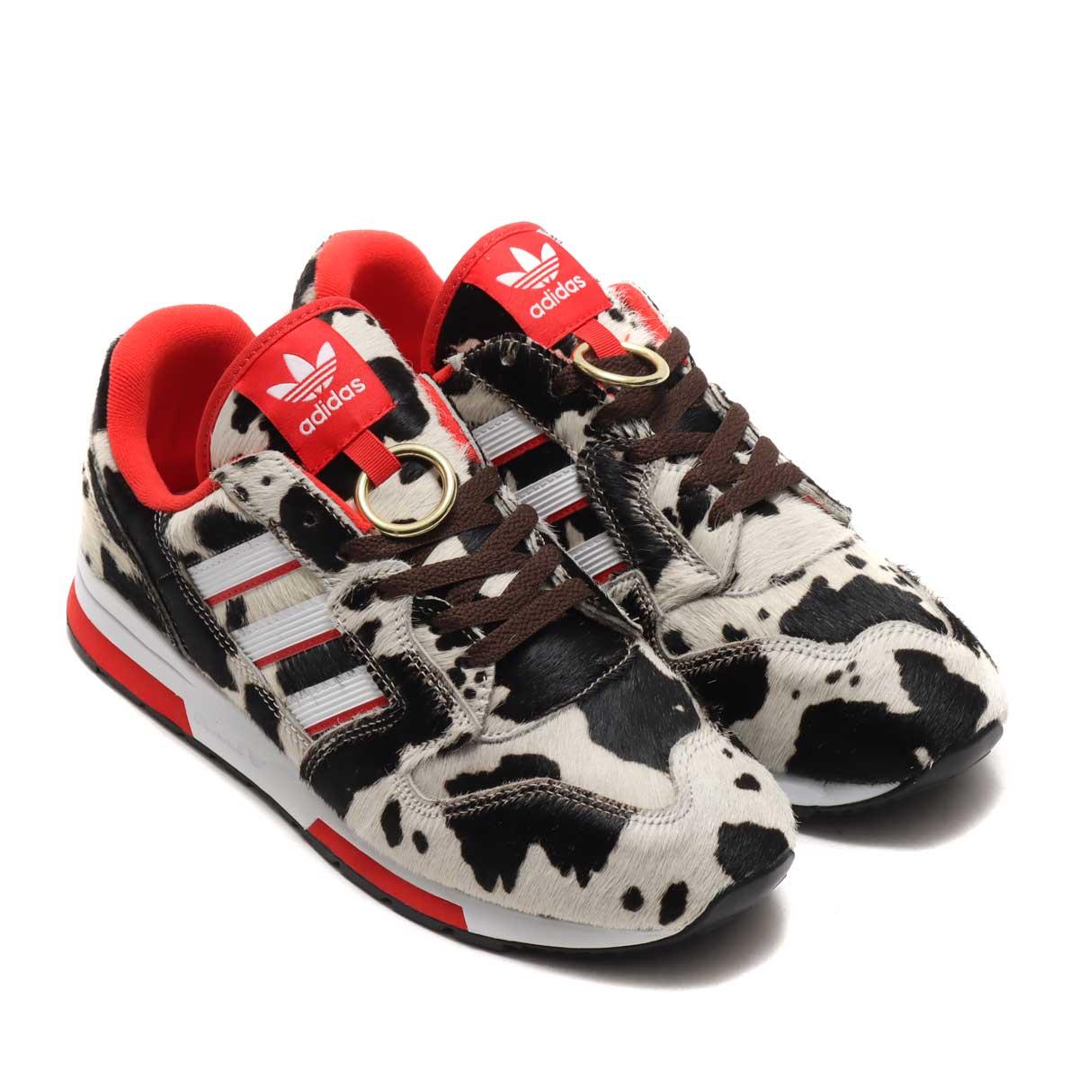 メンズ靴, スニーカー adidas ZX 420 CHINESE NEW YEAR 2021( ZX 420 2021)FOOTWEAR WHITERUSH REDCORE BLACK 21SS-I