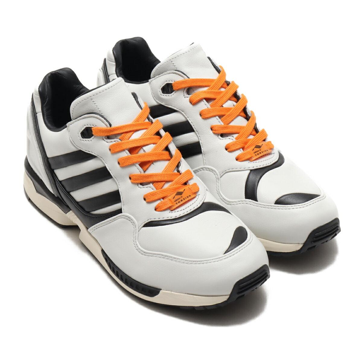 メンズ靴, スニーカー adidas ZX 6000 AZX( ZX 6000 AZX)CRYSTAL WHITECORE BLACKBAHIA ORANGE 20FW-S atp21ssl