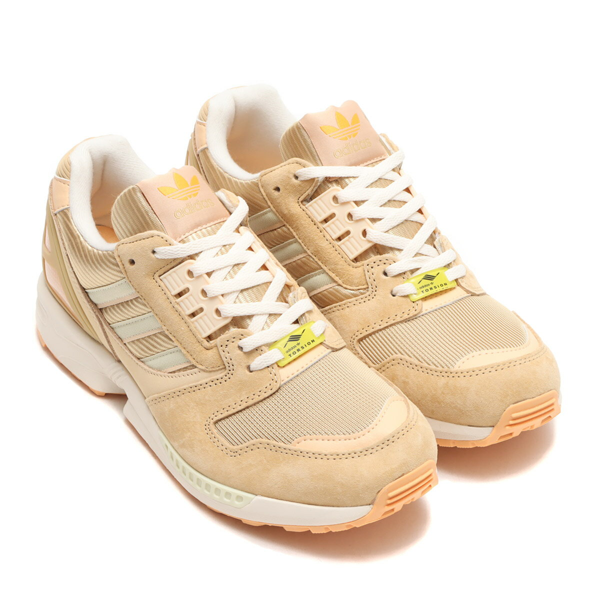 メンズ靴, スニーカー adidas ZX 8000( 8000)HAZY BEIGESANDHELLOW UMBER 21FW-I