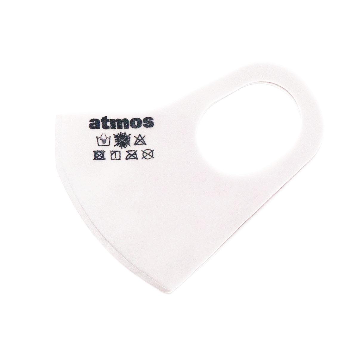 男女兼用アクセサリー, その他 atmos 3D LOGO MASK( )WHITE 20SP-I