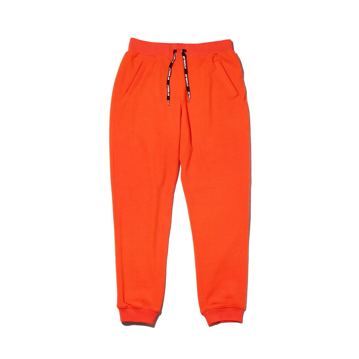 メンズファッション, ズボン・パンツ ATMOS LAB FLEECE PANTS( )ORANGE 18FW-S
