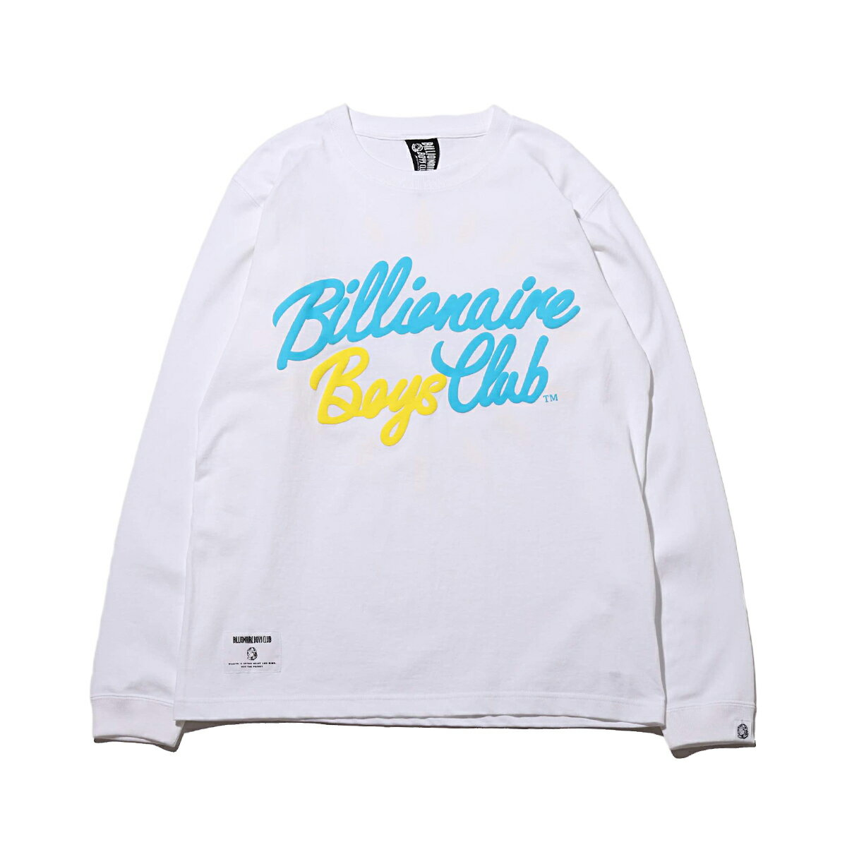 トップス, Tシャツ・カットソー BILLIONAIRE BOYS CLUB DIAMOND PUFF PRINT LS T-SHIRT( )WHITE T20SS-I