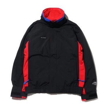 Columbia BUGABOO 1986 IN (コロンビア バガブー 1986 インターチェンジ ジャケット)BLACK RED SPARK【メンズ ジャケット】18FW-I