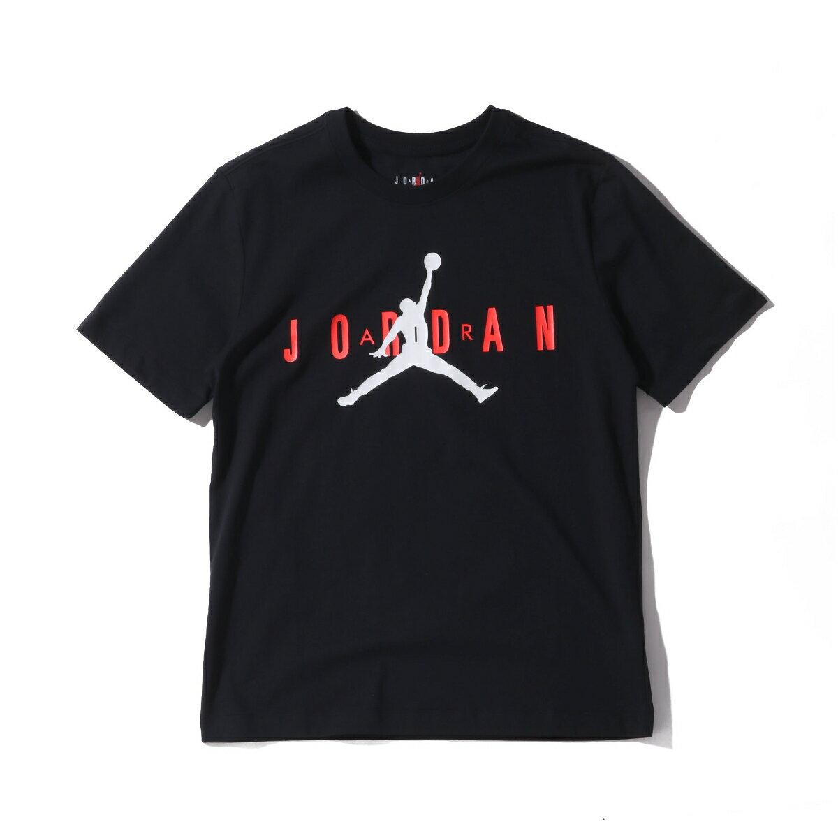 トップス, Tシャツ・カットソー JORDAN BRAND AS M J SS CTN JRDN AIR WRDMRK( CTN JRDN SS)BLACKINFRARED 23 T20SU-I