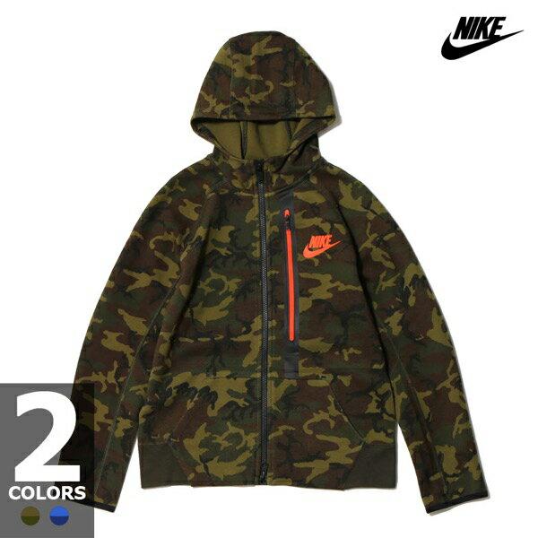 552760f9af24 nike tech fleece hoodie kids brown