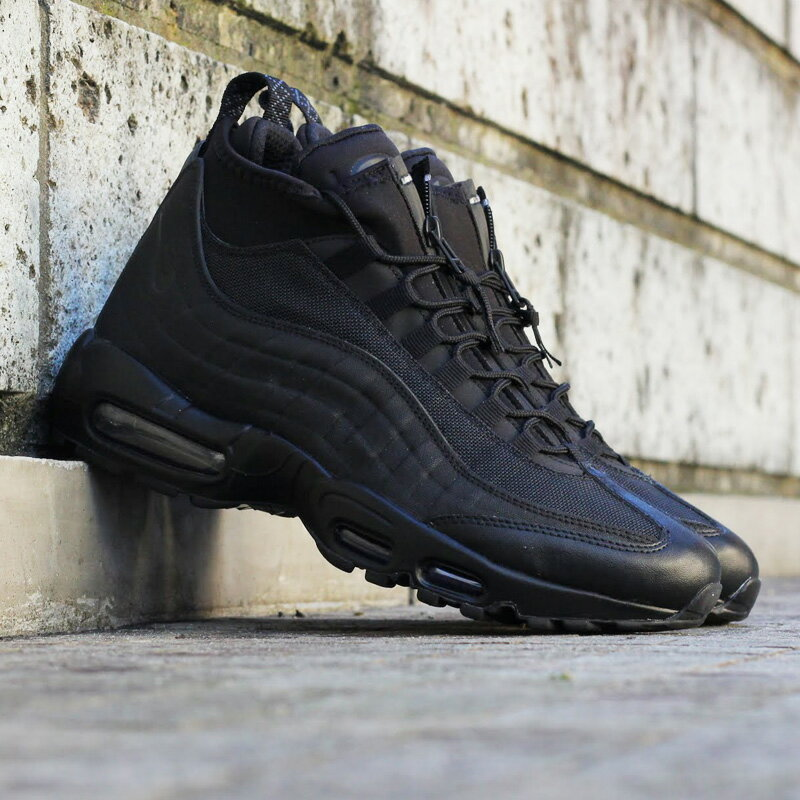 online store 45482 fb06d Nike Air Max 95 Sneakerboot Black minmage.nu