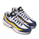 NIKE AIR MAX 95(ナイキ エア マックス 95)MIDNIGHT NAVY/WHITE-UNIVERSITY GOLD【メンズ スニーカー】21SU-I・・・