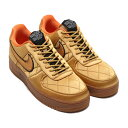 NIKE AIR FORCE 1 '07 PRM(ナイキ エアフォース1 '07 PRM)WHEAT/WHELUB GOLD-ALPHA ORANGE【メンズ スニーカー】20SP-I atpaw20