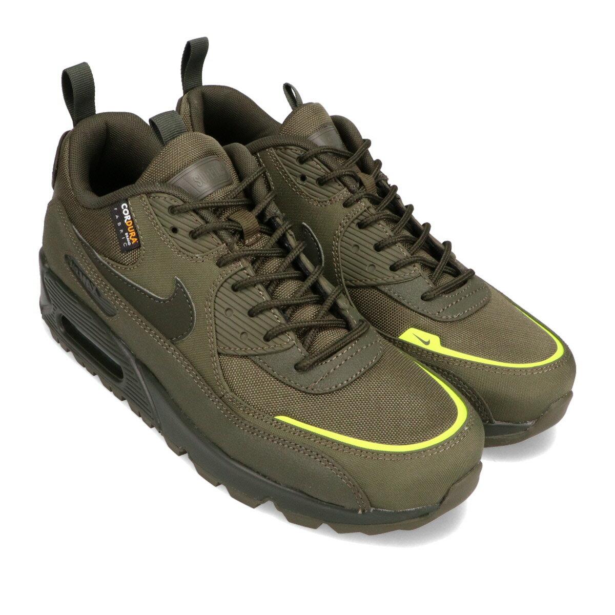 メンズ靴, スニーカー NIKE AIRMAX90 SURPLUS( 90 )CARGO KHAKISEQUOIA-LEMON VENOM 20HO-I
