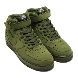 NIKE AIR FORCE 1 MID 07年(耐吉空軍1中間07)LEGION GREEN/LEGION GREEN-WHITE 17SP-I