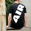 NIKEASMNKAIRMAXFLAIRSSTEE(ナイキエアマックスフレアS/Sティ)(BLACK/WHITE)【Tシャツ】17SU-S