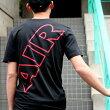 NIKEASMNKAIRMAXFLAIRSSTEE(ナイキエアマックスフレアS/Sティ)(BLACK/UNIVERSITYRED)【Tシャツ】17SU-S