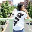 NIKEASMNKAIRMAXFLAIRSSTEE(ナイキエアマックスフレアS/Sティ)(WHITE/BLACK)【Tシャツ】17SU-S