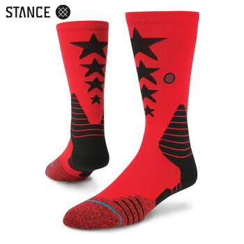 STANCEMONSIGNOR(スタンスモンシニョール)RED【メンズ靴下】【ソックス】【スケートボード】16FW-I