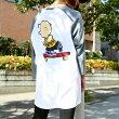 VANSPEANUTSRAGLANTEE(バンズ×ピーナッツラグランティーシャツ)WHITE【メンズレディースTシャツ】17SU-I