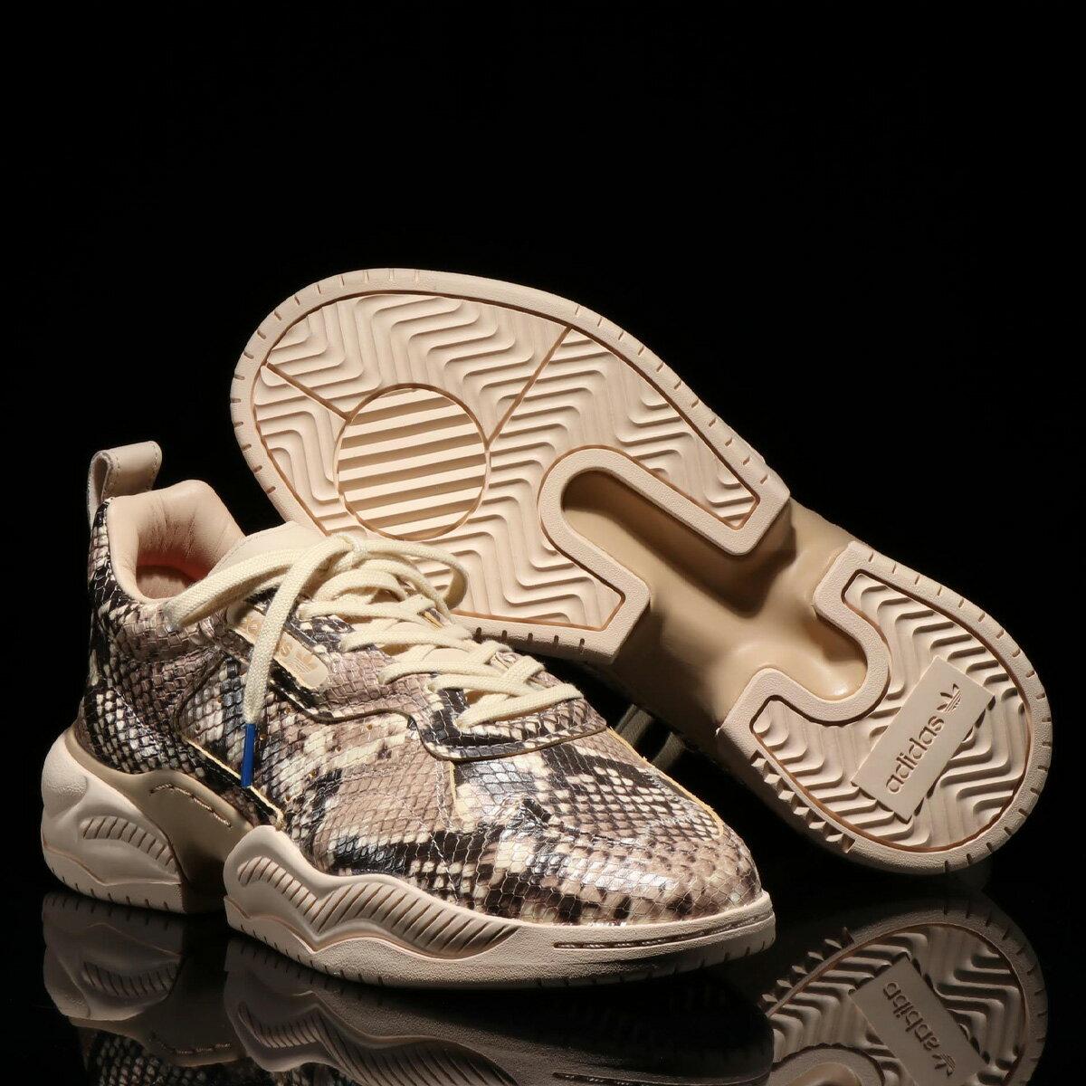 メンズ靴, スニーカー adidas Originals SUPERCOURT RX( RX)CORE BLACKLINENPALE NUDE 19FW-S