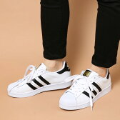 adidas Originals SUPERSTAR W(アディダス オリジナルス スーパースター ウィメンズ)RUNNING WHITE/CORE BLACK/RUNNING WHITECRYOVR