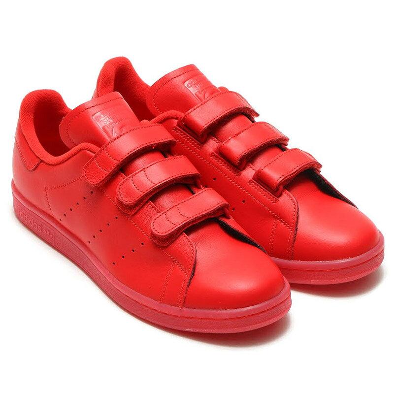adidasOriginalsSTANSMITHCF(アディダスオリジナルススタンスミス)RED/RED/RED【メンズレディース