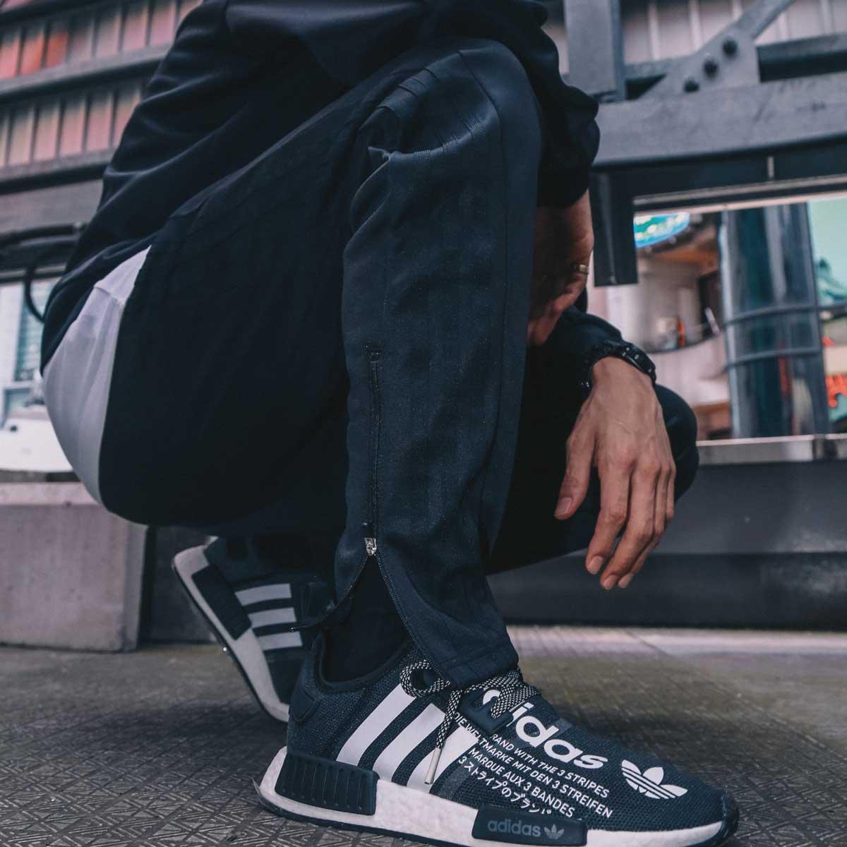 メンズファッション, ズボン・パンツ adidas M WU PT atmos ( M WU PT )BLACKBLACK 18FW-S