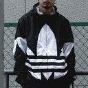 adidas BIG TREFOIL WINDBREAKER MEN(アディダス ビッグ トレフォイル ウィンドブレーカー)BLACK【メンズ ジャケット】20SS-I・・・