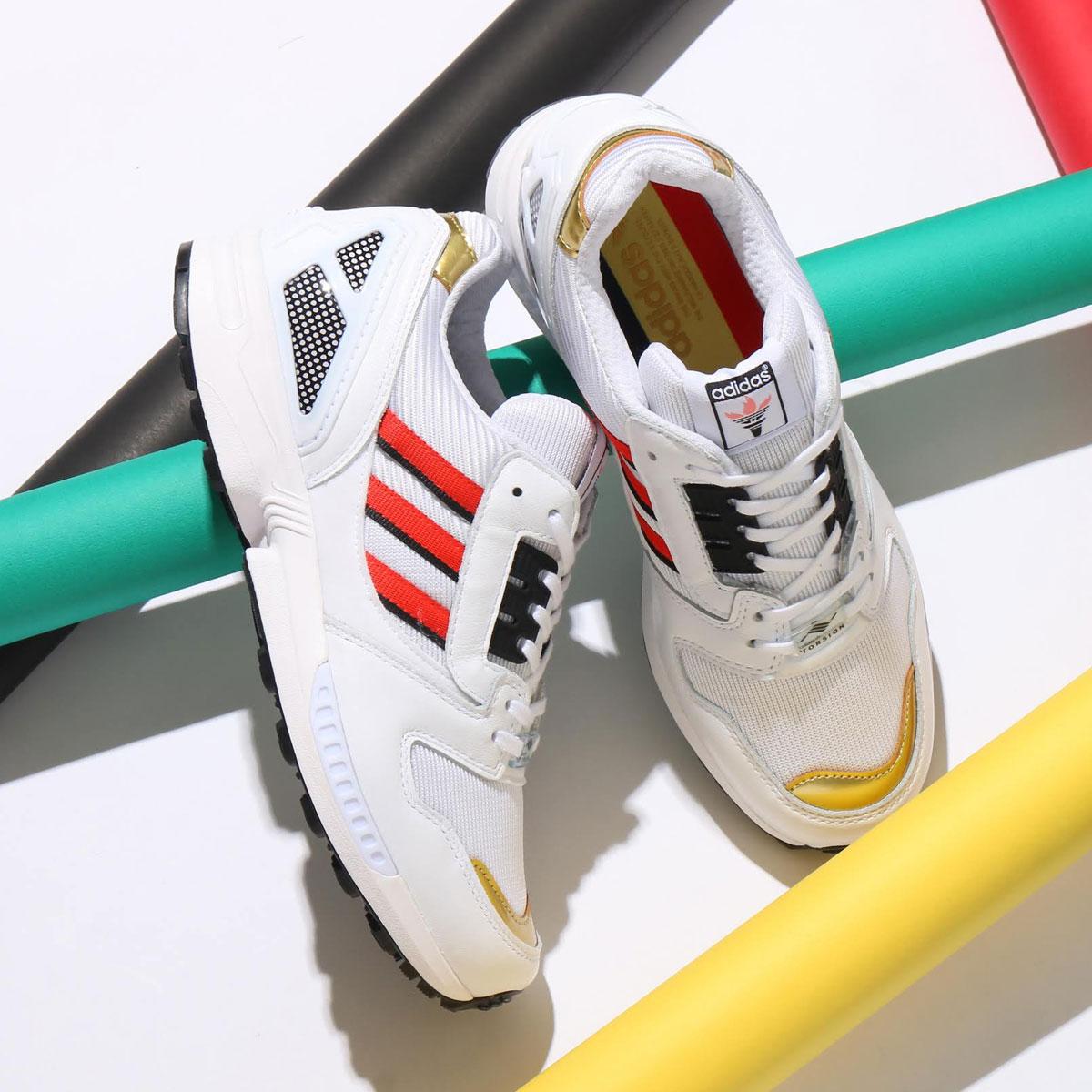 メンズ靴, スニーカー adidas ZX 8000( ZX 8000)FOOTWEAR WHITEHIGHREZ REDCORE BLACK 20SS-S at20-c