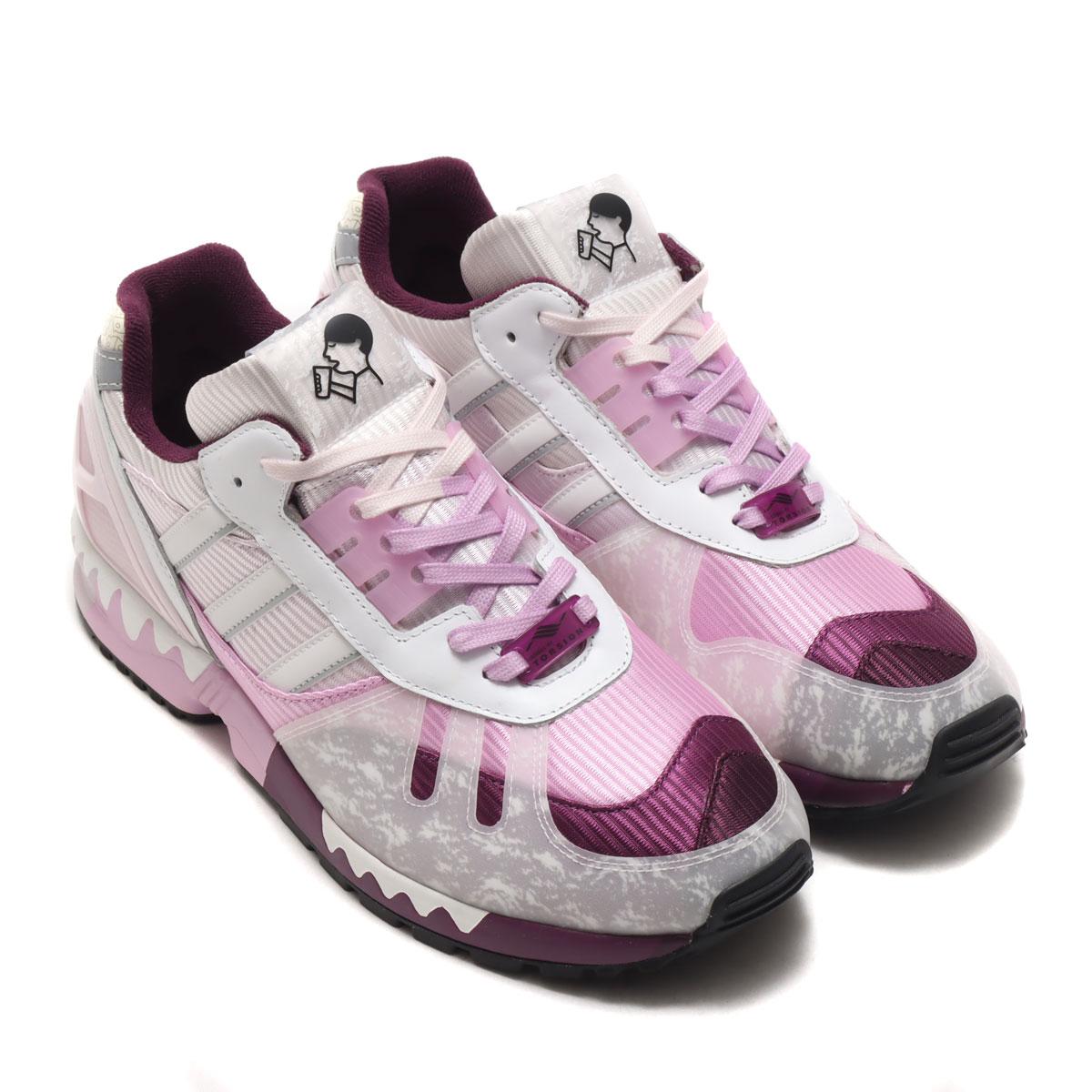 メンズ靴, スニーカー adidas ZX 7000 HEY TEE( ZX 7000 )MERLOTRICH MAUVECLEAR LILAC 20FW-S
