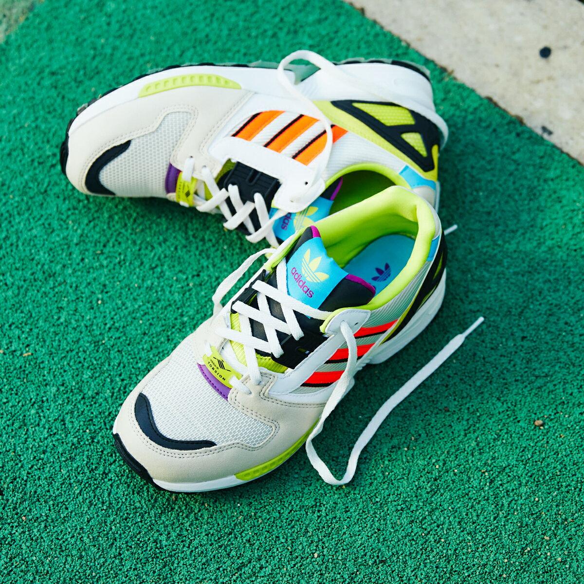 メンズ靴, スニーカー adidas ZX 8000( 8000)CLEAR BROWNFOOTWEAR WHITECRYSTAL WHITE 21FW-I