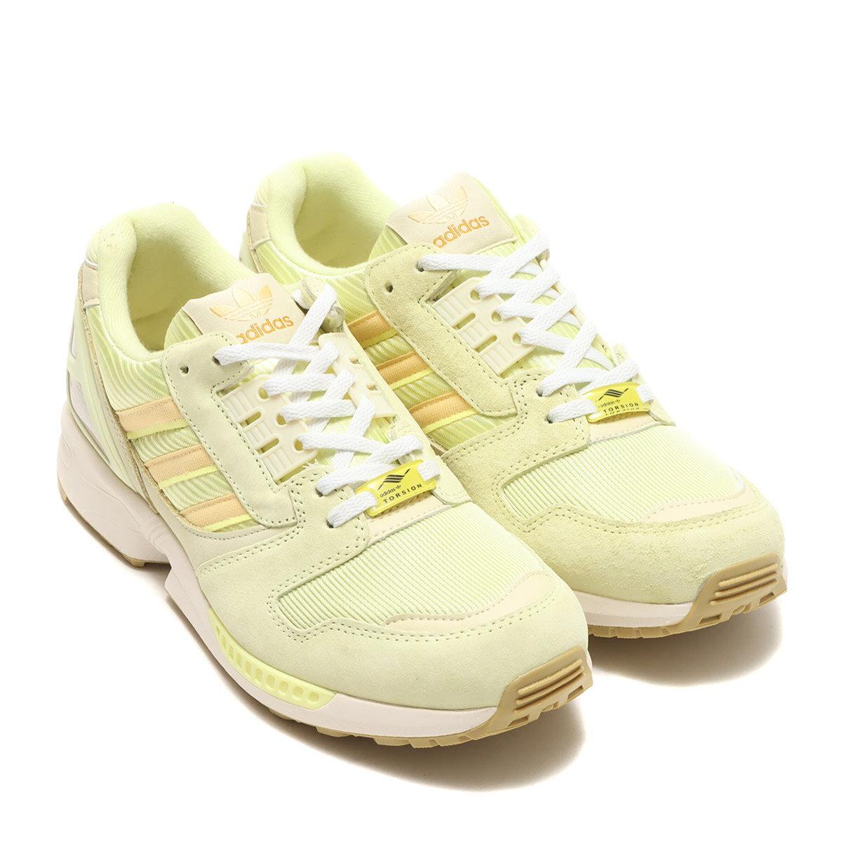 メンズ靴, スニーカー adidas ZX 8000( 8000)YELLOW TINTORANGE TINTPULSE YELLOW 21FW-I