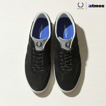 FREDPERRY×atmos UMPIRE(フレッドペリー×アトモス エンパイア)BLACK/WHITE15SS-S