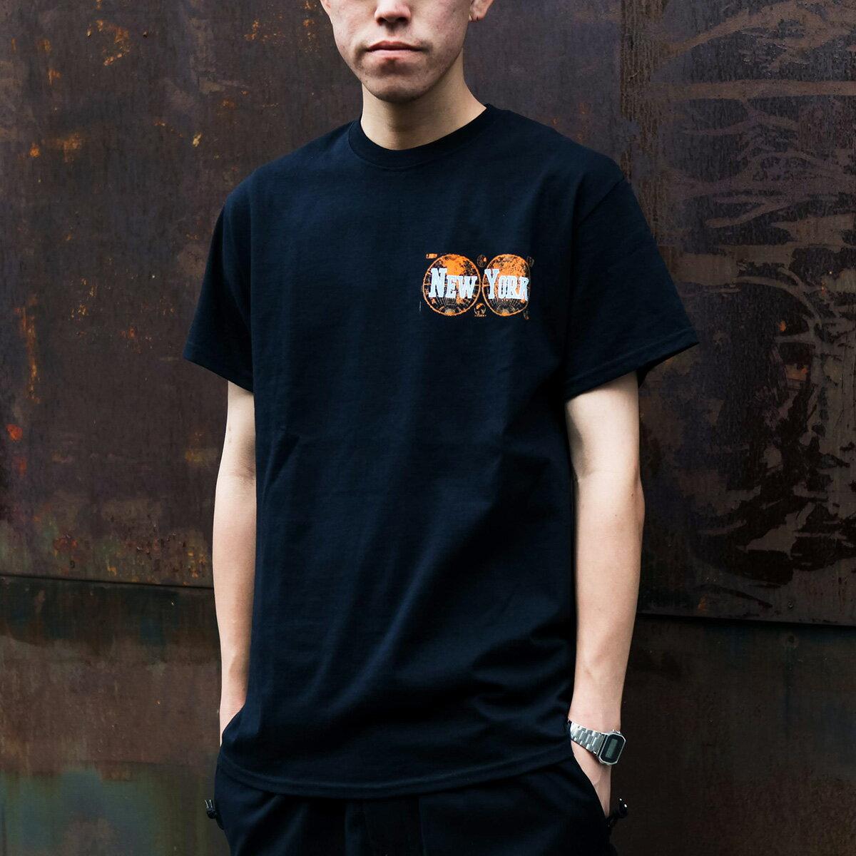トップス, Tシャツ・カットソー atmos NEW YORK Tee( T)BLACK T19FA-S
