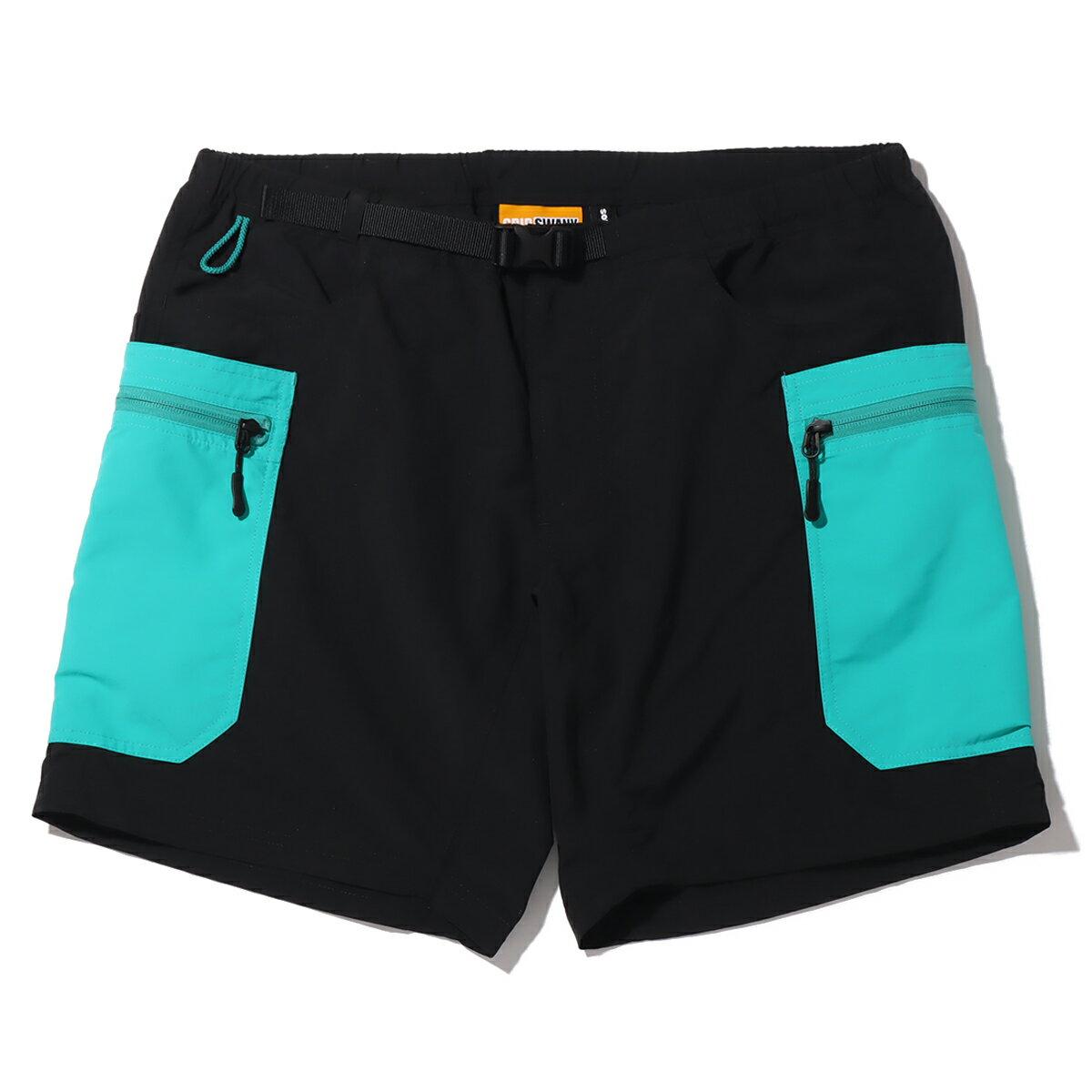 メンズファッション, ズボン・パンツ atmos x GRIPSWANY GEAR SHORT( x )BLACK 21SU-I