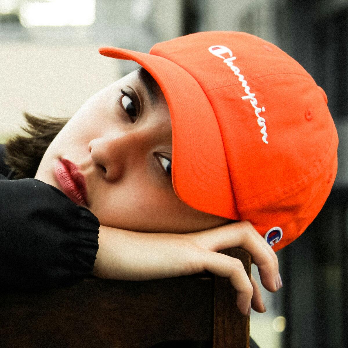 メンズ帽子, キャップ CHAMPION x ATMOS LAB 6 PANEL CAP( x 6 )ORANGE 18FW-I