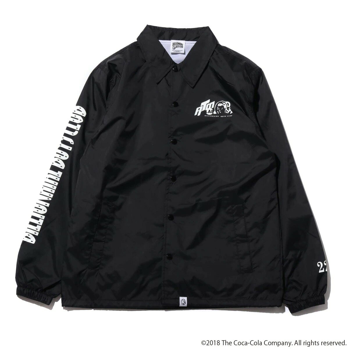 メンズファッション, コート・ジャケット COCA-COLA BILLIONAIRE BOYS CLUB x ATMOS LAB BP COLA COACH JACKET( )BLACK 18FA-S